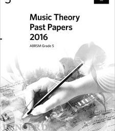2016 Music Theory Past Papers