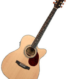 Freshman Apollo 1OC Electro Acoustic Guitar available at pencerdd music store penarth near cardiff