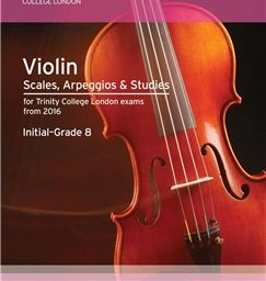 Trinity Violin Scales available at Penarth Music Centre