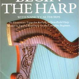 Begin The Harp music book at Pencerdd music store penarth