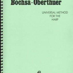 Universal Method for the Harp – Bochsa-Oberthuer pencerdd music store penarth