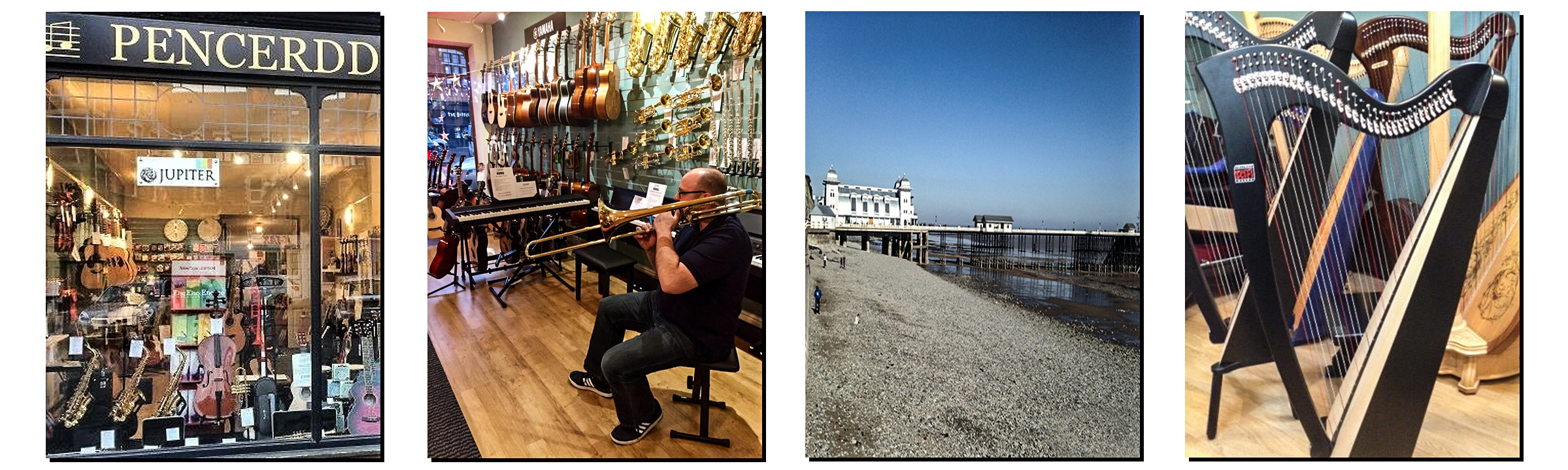 Pencerdd Music is a friendly family run music store in the heart of Penarth