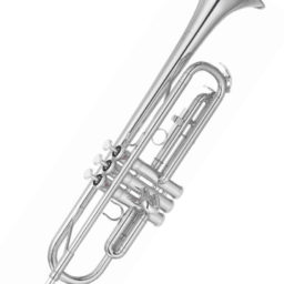 Yamaha YTR 2330S Trumpet Silver Plate at Pencerdd music store penarth