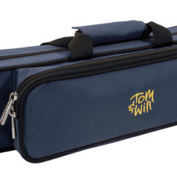Tom & Will Flute Gig Case With Moulded Interior: 36FG Blue/Purple available at Pencerdd Music Store Penarth