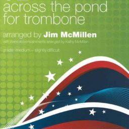Across The Pond For Trombone 02 Treble Clef available at Pencerdd Music Store Penarth