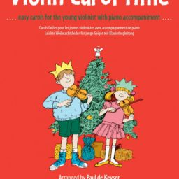 Violin Carol Time available at Pencerdd Music Store Penarth