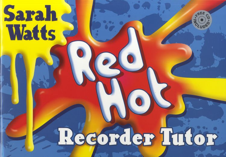 Red Hot Descant Recorder: Student Book  available at Pencerdd Music Store Penarth