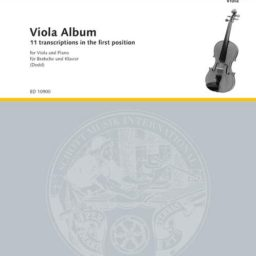 Viola Album - 11 Transcriptions In The First Position available at Pencerdd Music Store Penarth