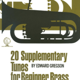 20 Supplementary Tunes for Beginner Brass Bass Clef available at Pencerdd Music Store Penarth