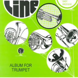 Top Line Album for Trumpet available at Pencerdd Music Store Penarth