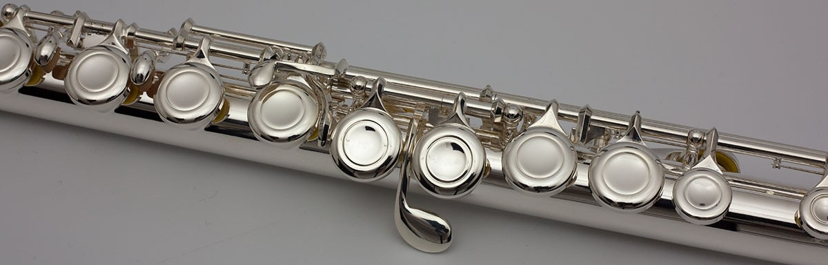 Trevor James 5X Flute available at Pencerdd Music Store Penarth