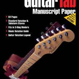 Fasttrack: Guitar Tab Manuscript Paper available from Pencerdd Music Shop, Penarth