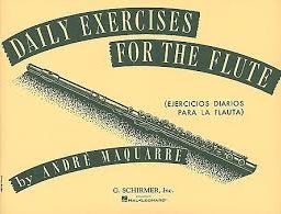 Andre Maquarre: Daily Exercises For The Flute available from Pencerdd Music Shop, Penarth