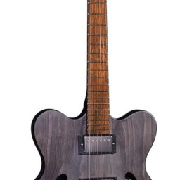 Hofner Verythin Black stain electric guitar available at pencerdd music store penarth near cardiff