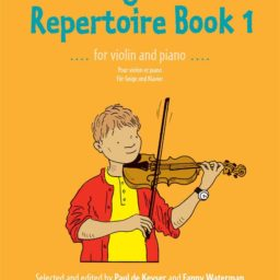Young Violinists Repertoire book 1 available at Penarth Music Centre