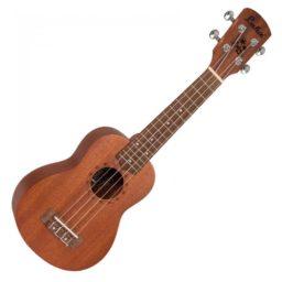Laka Soprano Ukulele Natural available at Penarth Music Centre