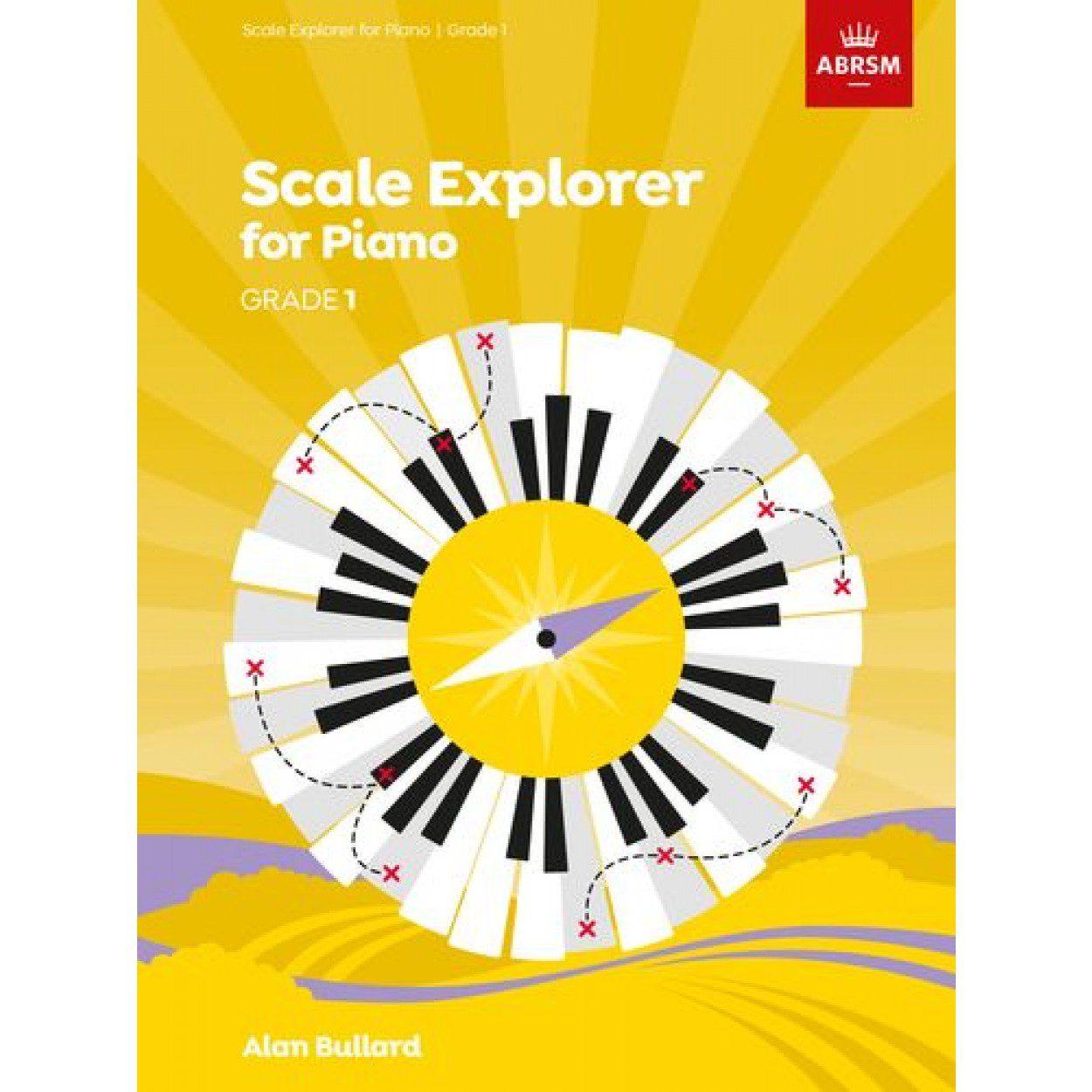 Scale Explorer for Piano Grade 1 available at Penarth Music Centre