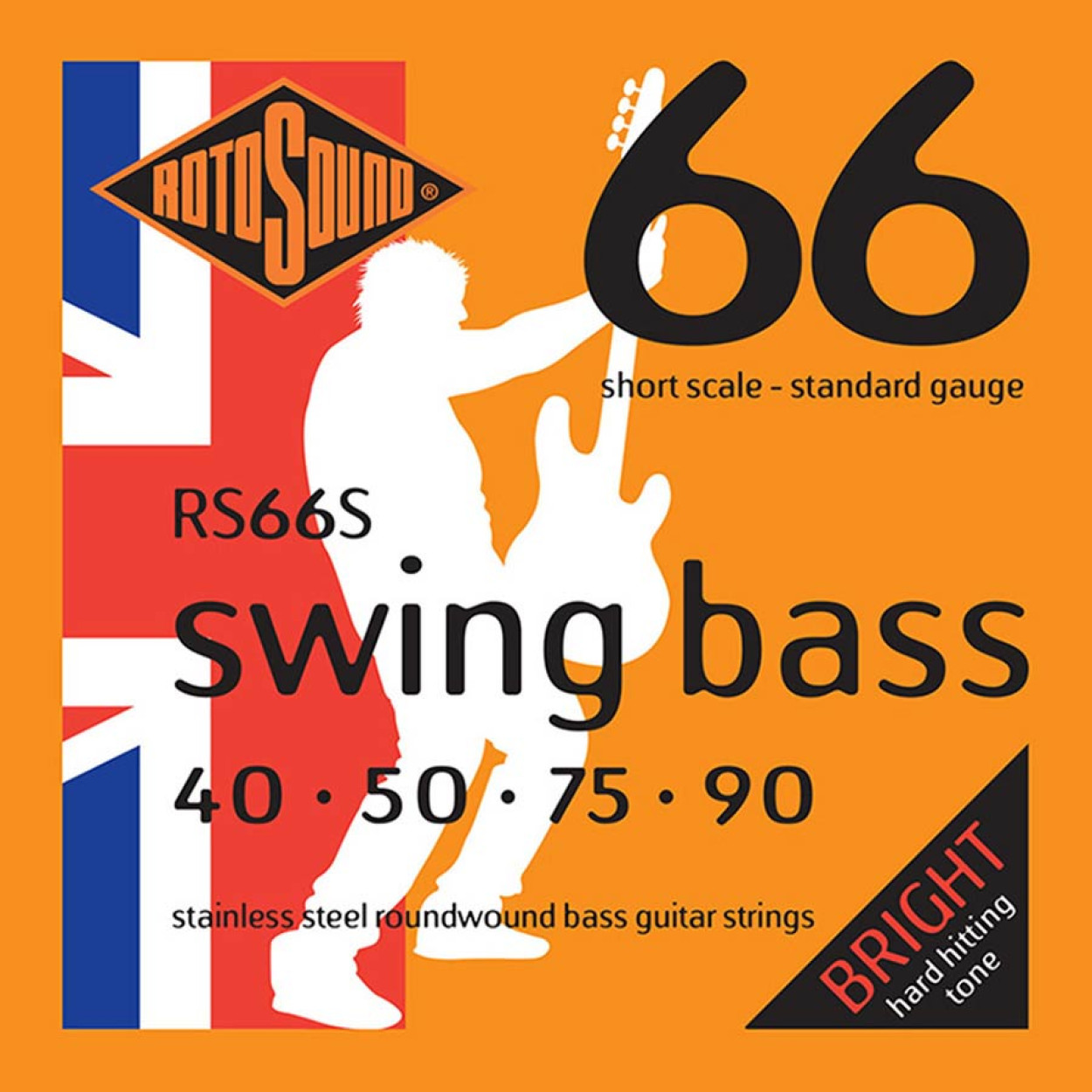 rotosound swing bass RS66S Short Scale available at Penarth Music Centre